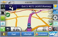 This screenshot shows the proposed design for the Hermes Road Warrior System app's main interface.Image submitted by DWIGHT FRAENCIS DY