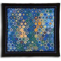 An art quilt by Bruce Seeds.