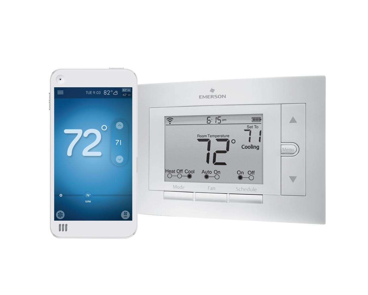 Emerson Sensi Thermostat Wiring Diagram Heat Only Detailed For Tech Review Wifi Gives You The Control Visionpro 8000