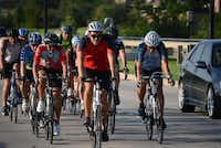 The Shawnee Trail Cycling Club has more than 300 members. Every Thursday, more than 100 club cyclists of varying skill levels meet to ride up to 35 miles.(ROSE BACA - neighborsgo staff photographer)
