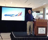 Bob Montgomery, Southwest Airlines' vice president of airport affairs