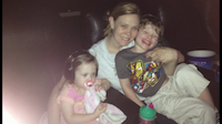 Me, Jack and Peyton at the theater watching Frozen. This was Jack's first time watching a movie in a theater.