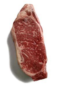New York strip steak.