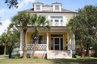 After: The Swetman House, now a museum, was restored under the leadership of the Mississippi Heritage Trust and its executive director, David Preziosi.