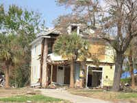 Before: The Swetman House, built in Biloxi, Miss., in 1927, suffered extensive water damage during Hurricane Katrina.