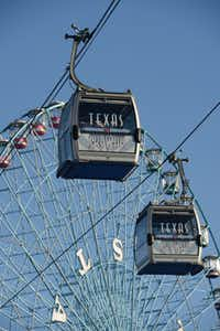 Texas Skyway is part of the fun at Summer Adventures in Fair Park.