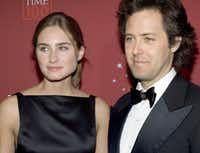 Lauren Bush, daughter of Neil Bush, and her husband, David Lauren, son of fashion designer Ralph Lauren, are a photographer's dream.