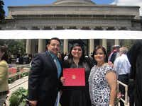 Aaron M. Gonzales and Martha Gonzales have now seen each of their three girls enter college. Some of the moments they have celebrated together include the graduation of their oldest, Kimberly, from MIT. Kimberly has since gone on to earn her master's degree at UT Austin and to work at Texas Instruments.(Photos submitted by MARTHA GONZALES<219,4,200>)