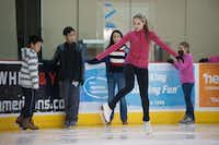 The Allen Community Ice Rink has tons of programs this summer for those trying to beat the heat, including open skate times and hockey classes for adults and kids.