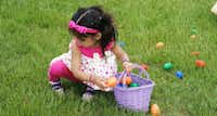 Connection Point Church in Plano will have egg hunts, a bounce house, balloon animals, basketball and more as part of its Easter celebration March 30.