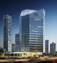 Construction is expected to be completed by the middle of next year.( Contributed  -  Gensler )