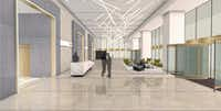 The remodeling of KPMG Centre will include a revamped ground floor lobby.(World Class Capital Group)