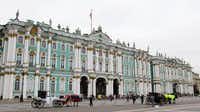 Below: The tsars' Winter Palace in St. Petersburg is now part of the renowned State Hermitage museum.( Photos by Tom Waseleski  - Gazette )