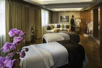The Spa at Sun Valley's menu includes couples' massages in sumptuous surroundings.    Kevin Syms(Kevin Syms - Sun Valley Resort)