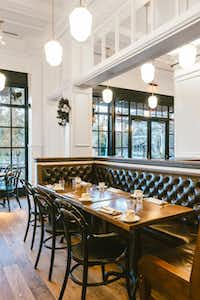 Hotel Emma's restaurant Supper offers a modern, Southern farmhouse look and feel.(Chase Daniel - Chase Daniel)