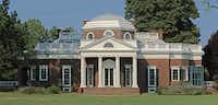 This June 9, 2008 image provided by the Monticello Foundation shows the home of Thomas Jefferson in Charlottesville, Va.  Several new projects launching this winter will shed light on the slaves who lived and worked at Monticello.