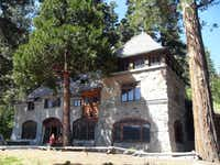 Lora J. Knight incorporated  Scandinavian architectural cues in the design of her Lake Tahoe mansion, Vikingsholm.( Photos by Ron Cobb  - Dispatch )