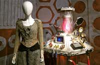 Cool sets are on display at the Doctor Who Experience in Cardiff, Wales.