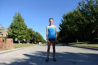 Ariana Luterman, 13, formed a brand, Team Ariana, to benefit homeless children in the Dallas area through her triathlons and will receive the Association of Fundraising Professionals' Outstanding Youth in Philanthropy award.(Photos by ROSE BACA)