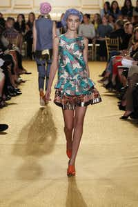 A trunk show of Thakoon Panichgul's spring-summer 2012 collection will be this weekend at Forty Five Ten.