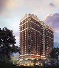 StreetLights Residential's new McKenzie apartment tower will contain 183 units. (StreetLights)