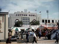 The Cotton Bowl in 1956