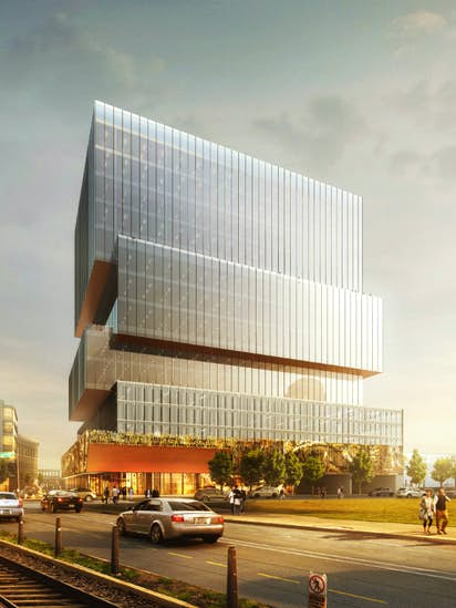 Your First Look At The Epic Office Complex And Hotel Planned Entrance To Deep Ellum