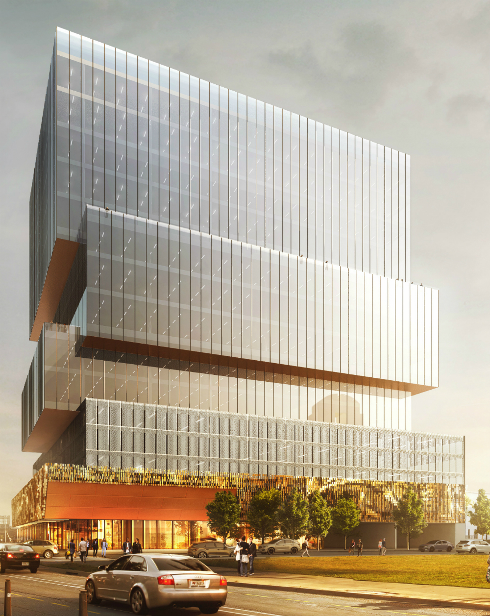 Your First Look At The Epic Office Complex And Hotel Planned Entrance To Deep Ellum Dallas City Hall News