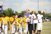 Tyler Sampson surprised coaches with his physical playing style this year, said Scott Starnes, head seventh-grade football coach at Griffin Middle School.Photo submitted by DOUG SAMPSON.