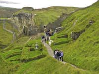 A walk around Tintagel Castle is a good excuse to soak up some myth and legend while stretching your legs. Some stories allege that this is where King Arthur was conceived, and a cave by the beach was said to have been used by the sorcerer Merlin.( Amy Laughinghouse  -  Special Contributor )