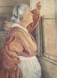 """The Long Wait"" by Toni Wengler(Colored Pencil Society of America)"