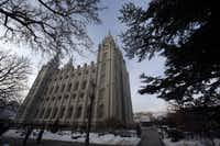 The Salt lake Temple is shown Wednesday, Jan. 9, 2013, in Salt Lake City. Utah's most-visited landmark, the granite-towered Temple Square invokes the mystery of Mormonism. The 35-acre square is the worldwide headquarters of The Church of Jesus Christ of Latter-day Saints, and features the church's sacred temple, one of the world's largest genealogy libraries and spectacular gardens. The square is open every day of the year from 9 a.m. - 9 p.m., and free tours are available in 30 different languages.