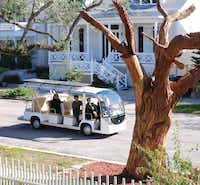 Take a free self-guided tour of the art trees of Galveston or opt for a shuttle tour.Galveston Island Convention and Visitors Bureau
