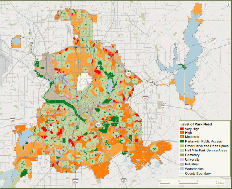 Dallas Crime Map on