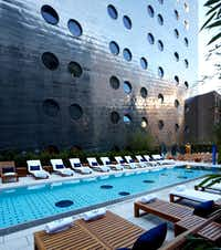 The pool at the Dallas Dream will be similar to the design at a Dream hotel in New York City, seen here.