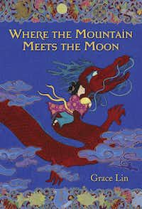 __ Caption: Children's book author Grace Lin makes appearances at the Allen Public Library at 2 p.m. March 3, 2012 and at 5 p.m. March 8 at the Texas Rangers Ballpark in Arlington. Her 2010 Newbery Honor book and New York Times bestseller, Where the Mountain Meets the Moon, has been called a Chinese Wizard of Oz. Email: esackett@dallasnews.com Phone: 940-395-1300 OrigName: 1329952595_0280054001329952595_0.jpg Name: GraceLinBookCover1.jpg Byline: none given Submitter: Ellen Sackett Timestamp: 2012-02-22 17:16:35 Section: GUIDE_NG