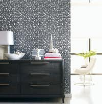 "The pattern in ""Debut"" was inspired by the cartoon character Steamboat Willie, later known as Mickey Mouse."