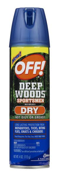Off! Deep Woods Sportsmen Insect Repellent IV (Dry)
