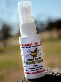 Skeeter Beater, a new mosquito repellent without DEET.