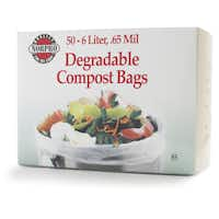 Norpro degradable compost bags are available at Sur La Table stores.