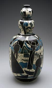 """City Skies"" is a stoneware work by Marty Ray. Ray's work will be part of the White Rock Lake Artists' Studio Tour."