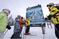 Panorama Mountain Resort has a team of Ski Friends who help guests with information and directions as well as offering free guided tours twice daily around the acre resort(Evan Mitsui)