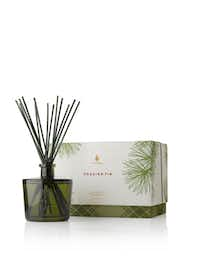 Bring the outdoors in with the classic fragrance of Thymes' popular Siberian fir, cedar and sandlewood in Frasier Fir candles, diffusers, lotions and soaps.  thymes.com