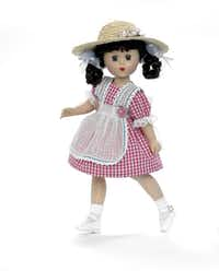 The 12-inch McGuffey Ana doll is one of six limited-edition figures celebrating the 90th anniversary of the company ($189.95).