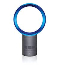 Household blues: Stay cool with the Dyson Air Multiplier 10-inch bladeless table fan (above), $299, or ...