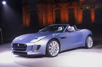 Jaguar boasts a new  F-Type two-seat convertible.