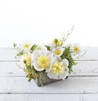 Showcasing a single type of flower can lead to a professional-looking arrangement.