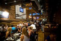 Urban Crust is one of a number of restaurants that line 15th Street in downtown Plano.Photo by CARTER ROSE