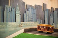 Familiar San Francisco landmarks and attractions, such as cable cars, are part of the mix at Urban Putt.(Kristen Loken -  Kristen Loken )