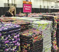 19. E-reader sleeves at the Vera Bradley outlet sale. (one long cutline for all three photos above and the large photo below. It's all the sam stuf... right?_Douglas(Betsa Marsh)
